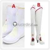 Sword Art Online SAO Alicization Yuuki Asuna The Goddess of Creation Stacia Cosplay Shoes Boots