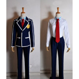 Sword Art Online Kirigaya Kazuto Kirito SchoolUniform Cosplay Costume