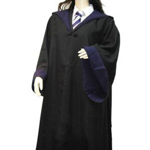 Harry Potter Ravenclaw Cosplay Necktie and Shirt and Overcoat and Knitwear Set