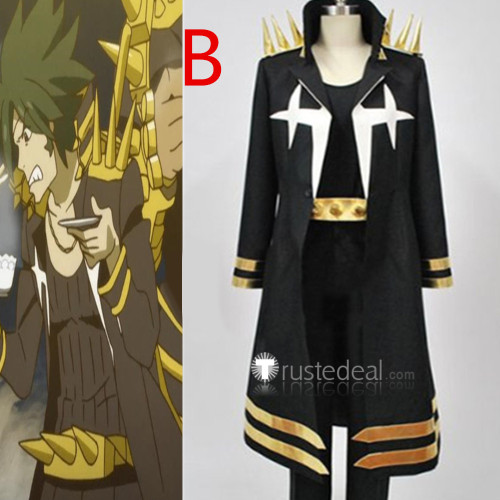 KILL la KILL Uzu Sanageyama White And Black Cosplay Costumes