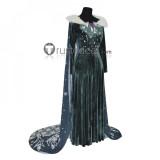 Frozen2 Disney Princess Elsa Anna Gown Cosplay Costumes