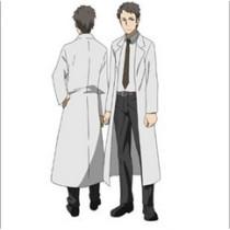 Sword Art Online Kayaba Akihiko White Lab Coat Cosplay Costume