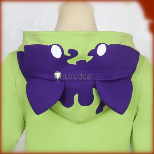 SK8 the Infinity SK∞ Miya Chinen Green Hoodie Cosplay Costume