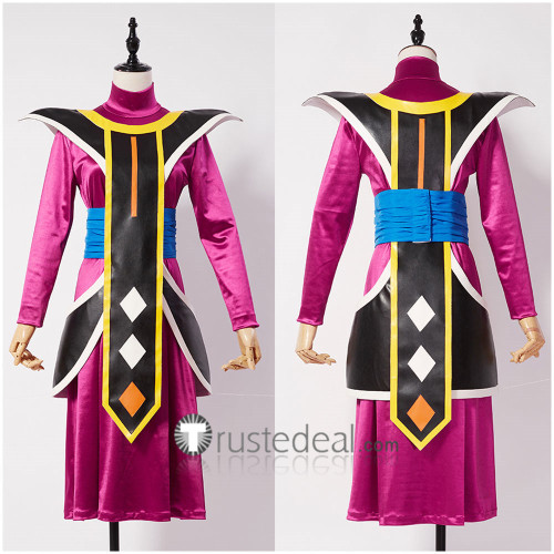 Dragon Ball The Angels Awamo Sour Camparri Cognac Whis Vados Kusu Cosplay Costumes