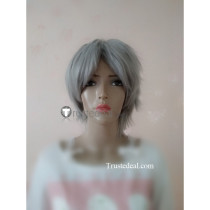 Spice and Wolf Kraft Lawrence Short Gray Cosplay Wig