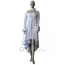 Vampire Knight Yuki Cross White Gown Cosplay Costume