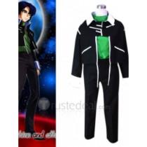Gundam Seed Destiny Zala Green Cosplay Costume(FK201)