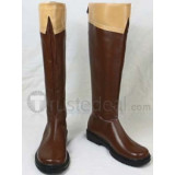 Axis Powers Hetalia Russia Cosplay Brown Boots Shoes