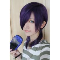 The Devil Is A Part Timer Hataraku Maou sama Lucifer Purple Cosplay Wig
