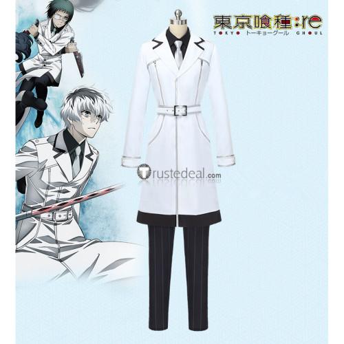 Tokyo Ghoul Re Season 3 Sasaki Haise Ken Kaneki White Cosplay Costume