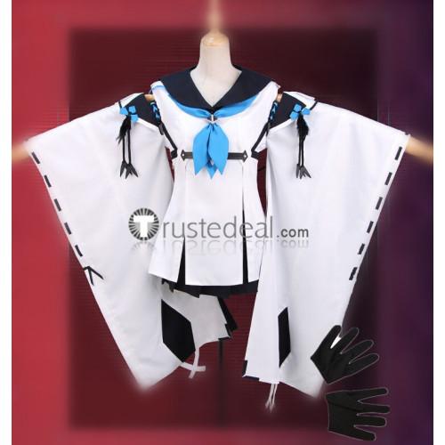 Azur Lane SSR Kawakaze White Cosplay Costume