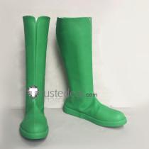 Tokyo Mew Mew Lettuce Retasu Midorikawa Green Cosplay Boots Shoes
