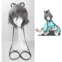 Vocaloid Luotianyi Grey Cosplay Wig 1