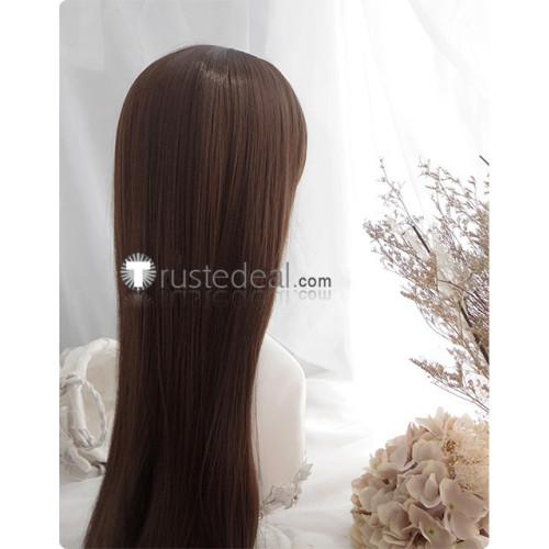 Kakegurui Yuriko Nishinotouin Brown Cosplay Wig