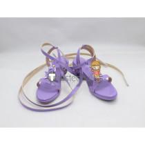 The Idolmaster Cinderella Girls Anzu Futaba Light Purple Cosplay Shoes