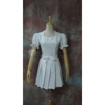 Sword Art Online Yui White Dress Cosplay Costume