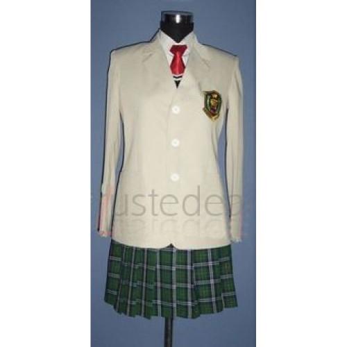 Prince of Tennis Hyotei High Girls School Uniform Cosplay Costume