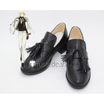 Touken Ranbu Higekiri Black Cosplay Boots Shoes