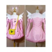 Kaitou Tenshi Twin Angel Kurumi Hazuki Pink Cosplay Costume