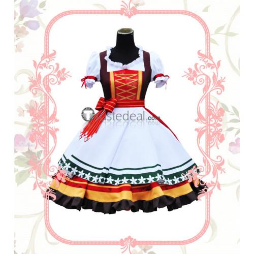Love Live World Travel Kotori Minami Maki Nishikino Cosplay Costume