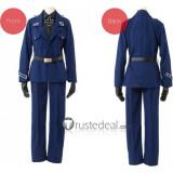 Hetalia Axis Powers Prussia Gilbert Beilschmidt Blue Cosplay Costume