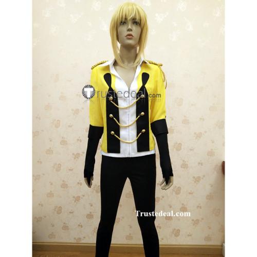 Yuri on Ice YOI Stay Close to Me Yurio Yuri Plisetsky Yellow Cosplay Costume
