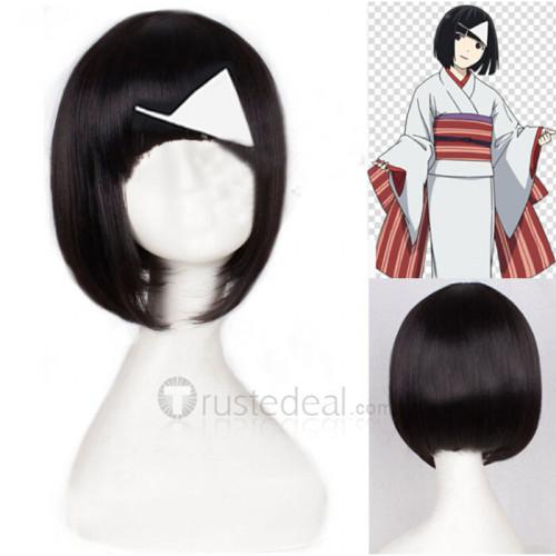 Noragami Nora Short Black Cosplay Wig