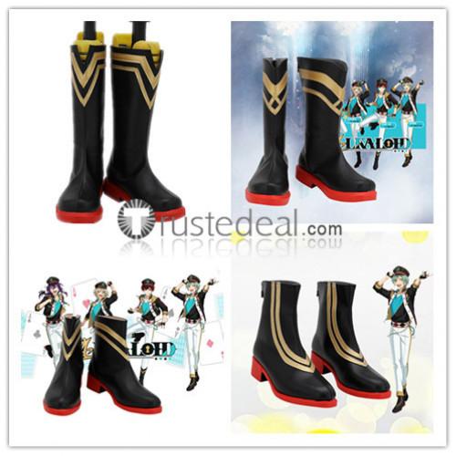 Ensemble Stars Enstars ALKALOID Hiiro Amaji Mayoi Ayase Aira Shiratori Tatsumi Kazehaya Idol Cosplay Shoes Boots