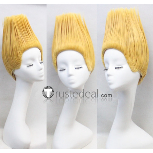 Street Fighter Guile Blonde Cosplay Wig