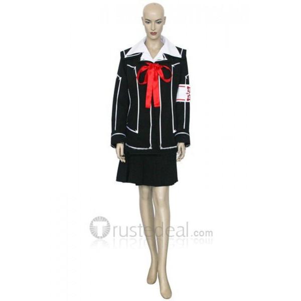 Vampire Knight Day Class Girl Kurosu Yuuki/Yuki Cross Cosplay Costume