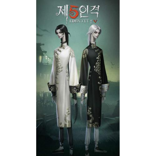 Identity V Wu Chang Broken Blossoms White Guard Black Guard Cosplay Costumes