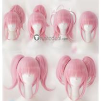 Shugo Chara Amu Hinamori Clover Angel Diamond Heart Spade Pink Cosplay Wigs