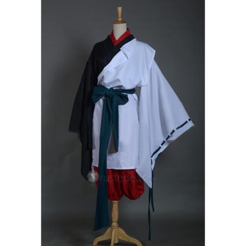Noragami Rabo Kimono Red Black White Cosplay Costume