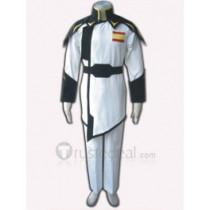 Gundam Seed Lyzak Jule White Uniform Cosplay Costume(FK203)