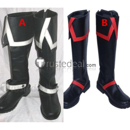 D.Gray-man Allen Walker Cosplay Boots Shoes2