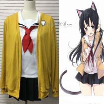 Koe no Katachi A Silent Voice Ueno Naoka School Cosplay Costume Cardigan
