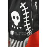 Hetalia Hetaween Halloween Prussia Gilbert Beilschmidt Black Devil Hoodie Cosplay Costume