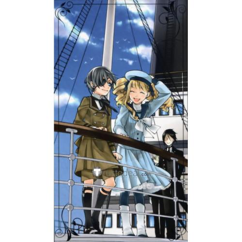 Black Butler Kuroshitsuji Book Of The Atlantic Elizabeth Blue Sailor Cosplay Costume