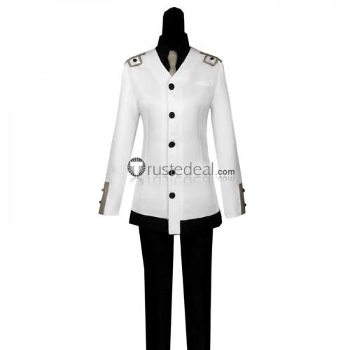 Tokyo Ghoul Re Season 3 Tooru Mutsuki Quinx CCG Uniform White Cosplay Costume