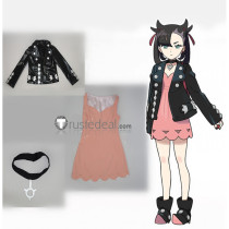 Pokemon Sword and Shield Gym Leader Marnie Cosplay Costume