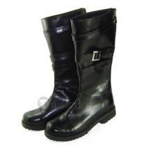 No.6 Nezumi Classic Black Cosplay Boots Shoes