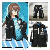 Arknights Amiya Fashion Daily Jacket Pants Female Male Cosplay Costume