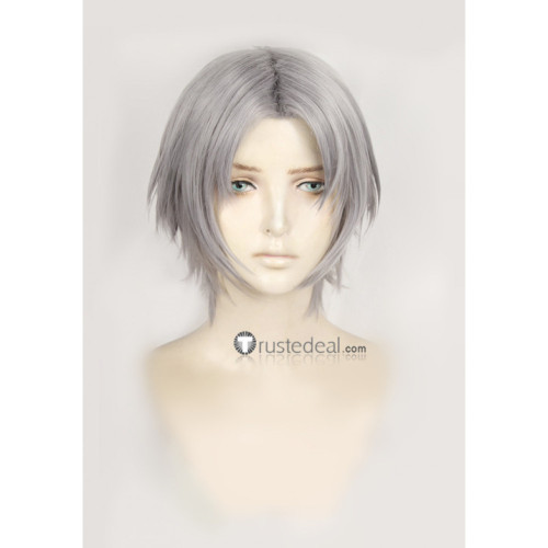 Devil May Cry Dante Silver Gray Cosplay Wig