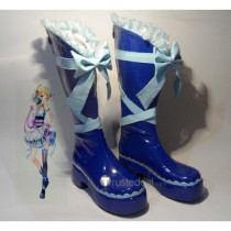 Love Live Ayase Eli Valentine's Day Maid Cosplay Boots Shoes