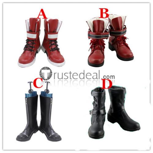 Final Fantasy VII Remake Tifa Lockhart Cloud Earith Cosplay Shoes Boots