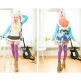 Super Sonico Sonico Cosplay Costume