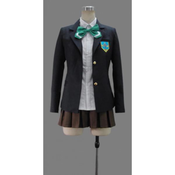 Free Iwatobi Swim Club Haruka Nanase School Gender Bending Cosplay Costume