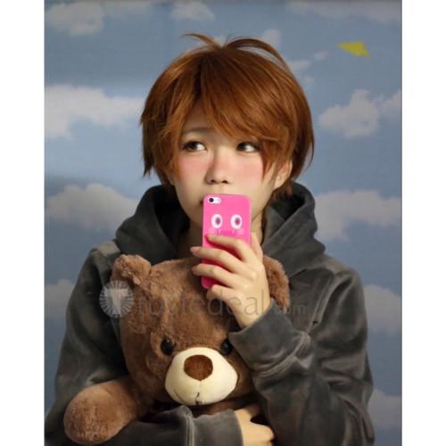 Yuri on Ice YOI Chinese Guang Hong Ji Brown Cosplay Wig