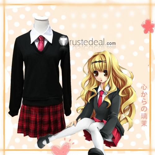 Shugo Chara Rima Mashiro Black Cosplay Costume