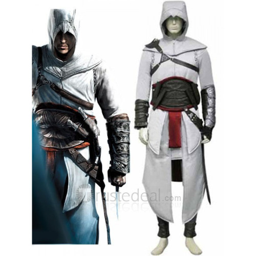 Assassin's Creed Altair Ibn-La'Ahad Cosplay Costume2
